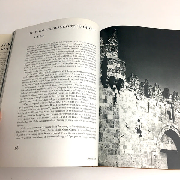 Jerusalem Rock of Ages - photos by Alfred Bernheim - text by Fosco Maraini - 1969 first edition - NextStage Vintage