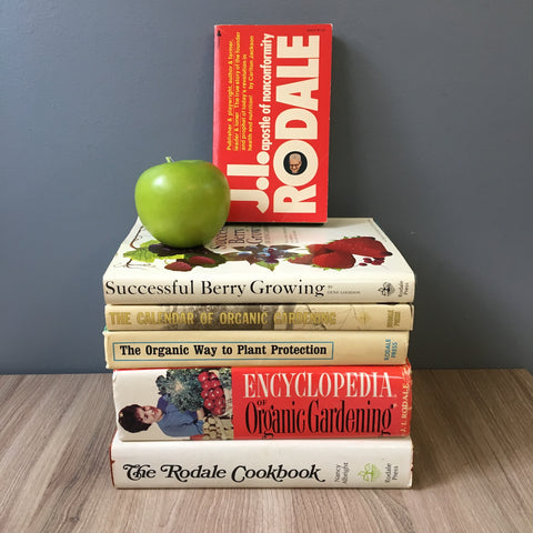 Rodale's Organic Gardening 1970s vintage library - 6 books for gardeners - NextStage Vintage