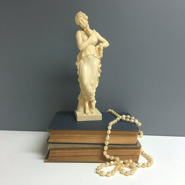 Canova's Dancer with Finger on Chin replica by G. Ruggieri - vintage resin figurine - NextStage Vintage