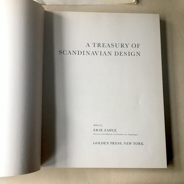 A Treasury of Scandinavian Design - Eric Zahle - 1961 - NextStage Vintage