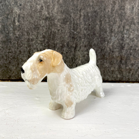 Alton bone china Sealyham terrier figurine - vintage dog figurine - NextStage Vintage