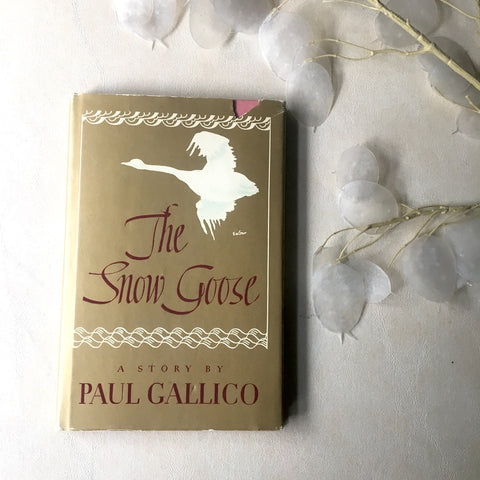 The Snow Goose - Paul Gallico - 1963 reprint hardcover - NextStage Vintage