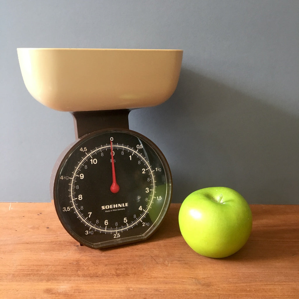 Soehnle kitchen scale - lbs and kg - vintage 1970s - NextStage Vintage
