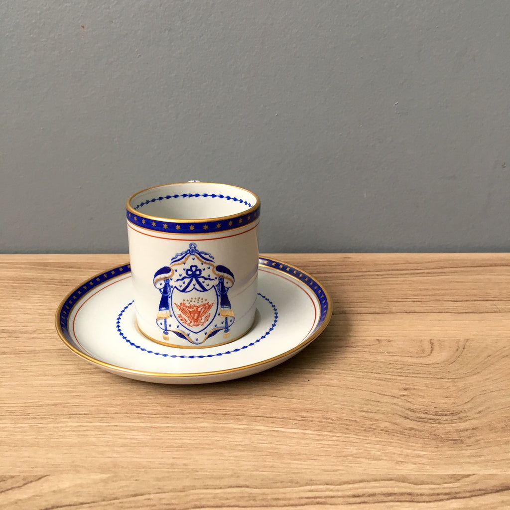 Copeland Spode Independence demitasse cup and saucer