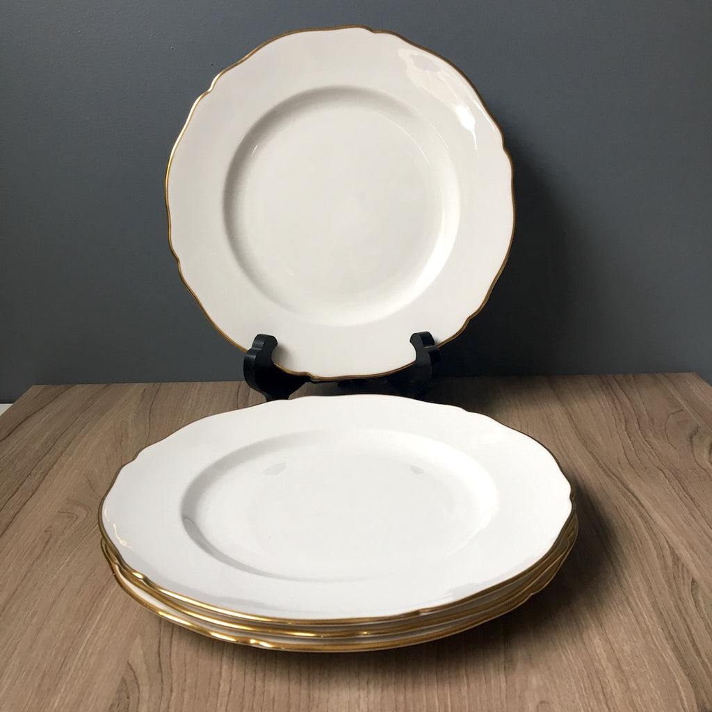 Spode Nordic pattern dinner plates - set of 4 - 1960s china - NextStage Vintage