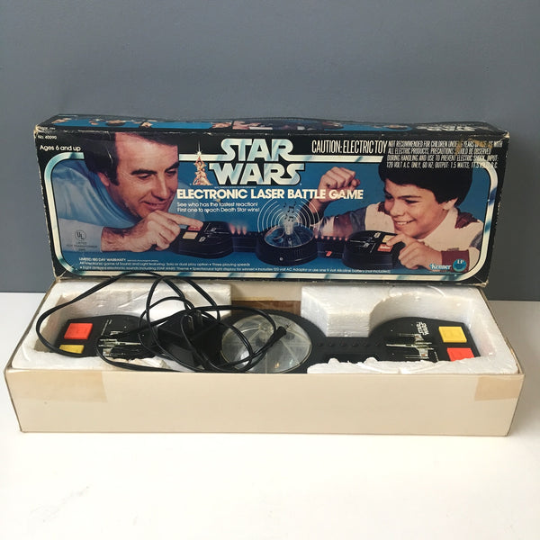 Kenner Star Wars Electronic Laser Battle Game - No. 40090 - working condition