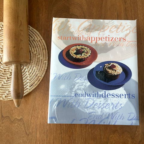 Start with Appetizers, End with Desserts - JCPenney Associates United Way fundraising cookbook - 1997