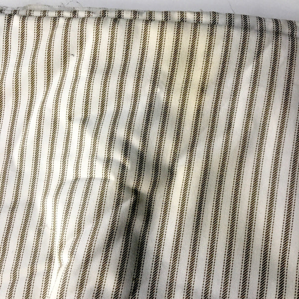 Cotton stripes and plaids fabric collection - 7.5 yds - vintage 1970s garment and decor - NextStage Vintage