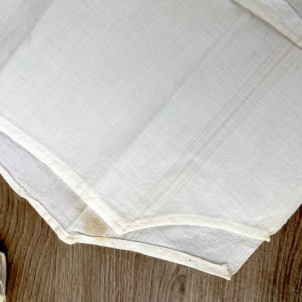 Sugar sack dish towels - set of 4 - 1940s vintage - NextStage Vintage