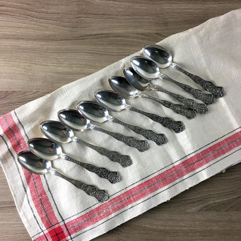 State seal spoons by Wallace Silversmiths - A+ silver plate - assorted states