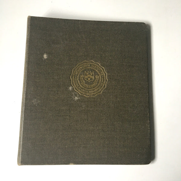 Wentworth Institute three ring binders - two vintage 1940s notebooks - NextStage Vintage