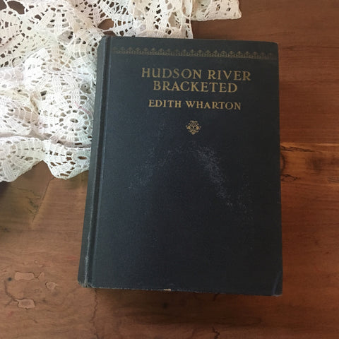 Hudson River Bracketed by Edith Wharton - 1929 edition - D. Appleton and Co. - NextStage Vintage