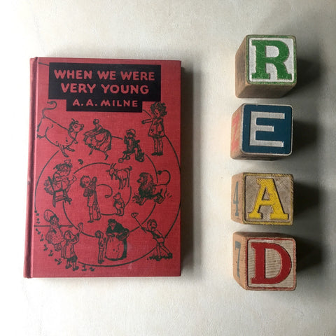 When We Were Very Young - A. A. Milne - 240th printing, new plates and engravings 1950 - NextStage Vintage