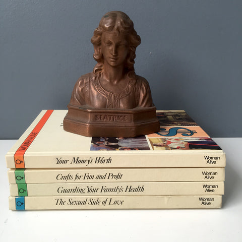 Woman Alive - 4 volumes from Aldus Books - 1970s vintage non-fiction