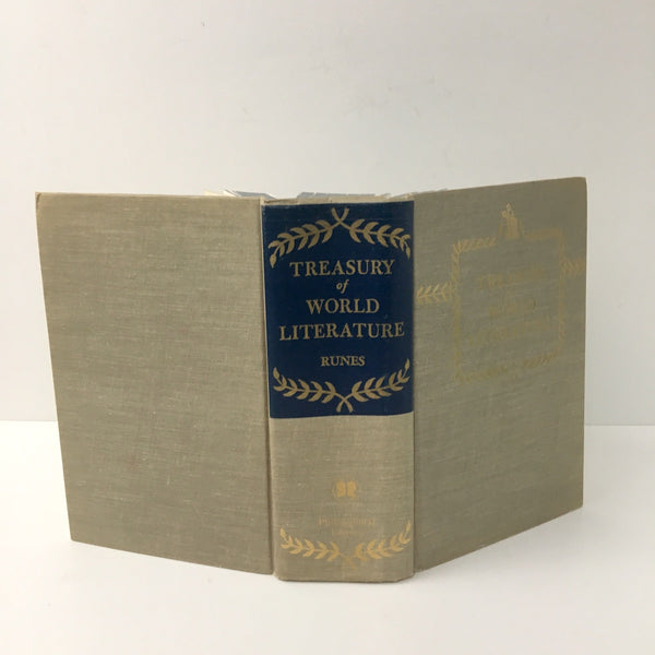Treasury of World Literature - Dagobert D. Runes - 1956 hardcover - NextStage Vintage