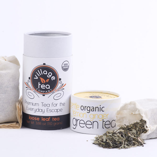 Gentle Organic Lemon Ginger Green Tea
