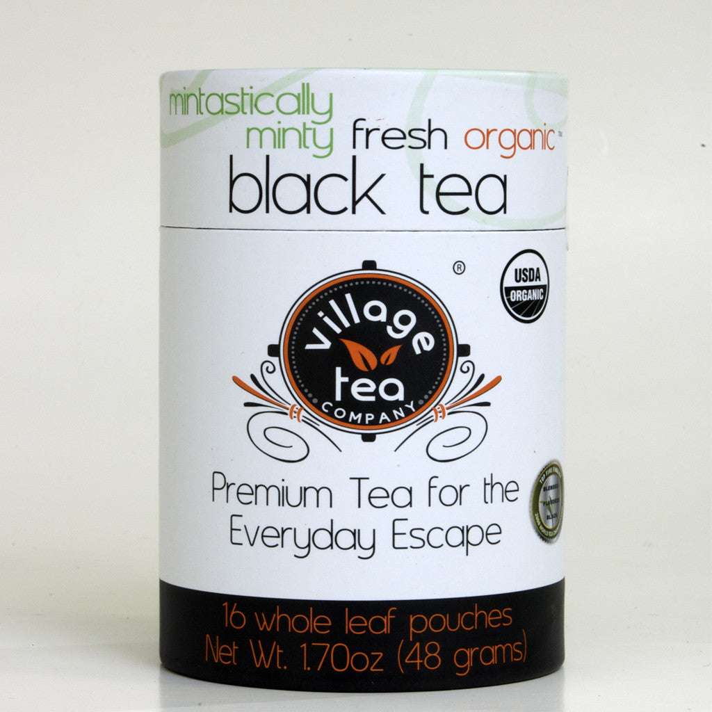 Mintastically Minty Fresh Organic Black Tea