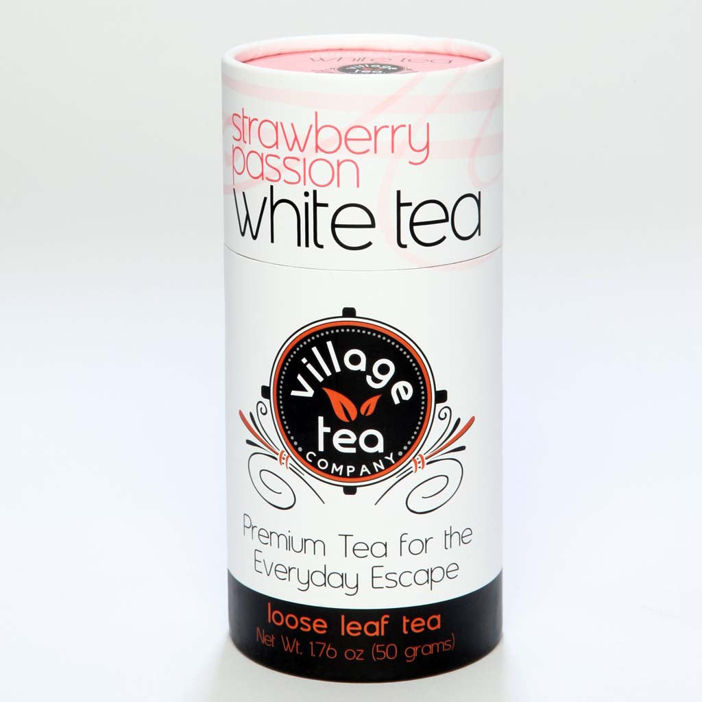 Organic Strawberry Passion White Tea