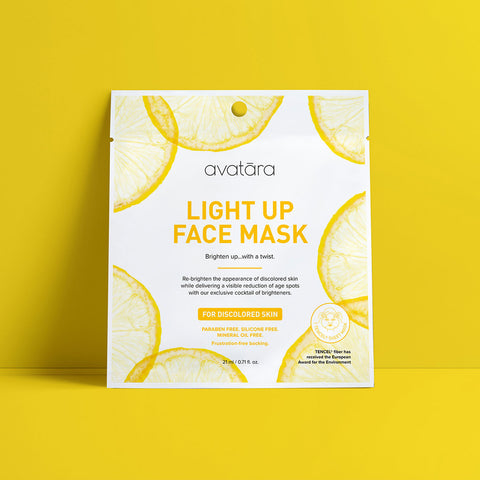 Light Up Face Mask