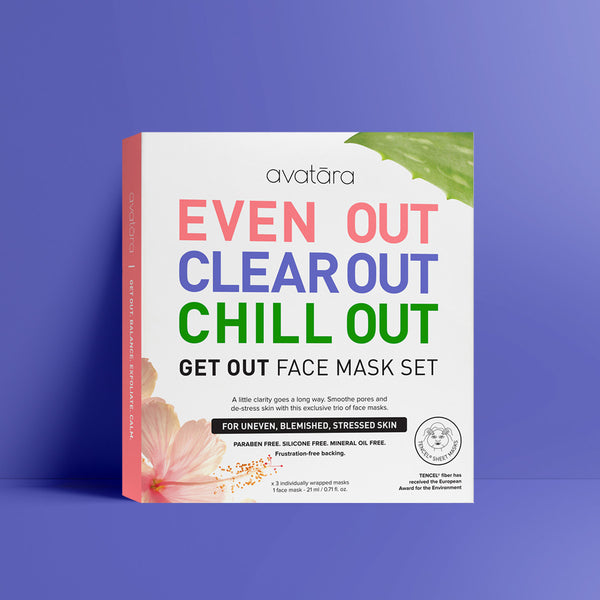 Get Out Face Mask Set