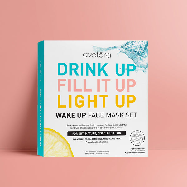 Wake Up Face Mask Set