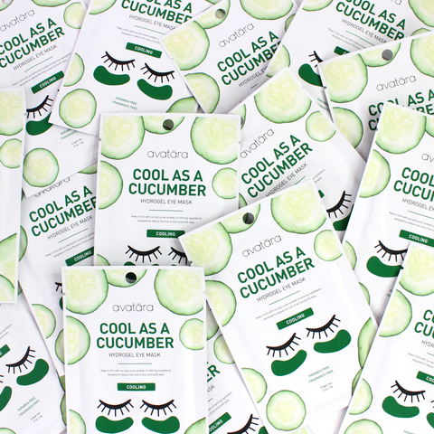 Cool as a Cucumber Eye Mask
