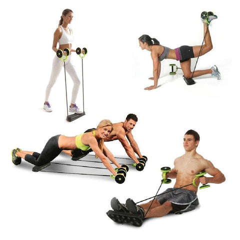Revoflex Xtreme Rally multifunction health abdominal muscle training home fitness equipment - MyGlobalGear