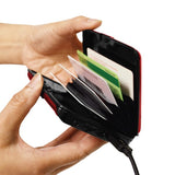 Atomic Charge Wallet - RFID Multifunction Purse Phone charging power bank - MyGlobalGear