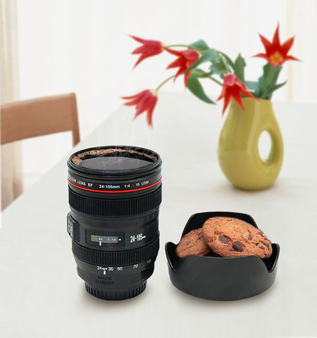 CAMERA LENS COFFEE CUP - MyGlobalGear