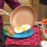 Non-stick Copper  Frying Pan With ceramic  - SAVE 50% TODAY
