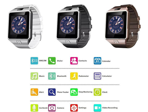 Smart Watch 2017 FOR IOS / ANDROID - MyGlobalGear