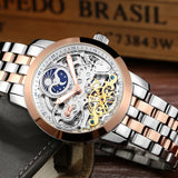 LIGE Automatic mechanical Watches Men  Luxury Dive 50M Business - MyGlobalGear