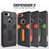 case luxury Defender 2 Neo Hybrid Tough Armor For iphone 7 plus