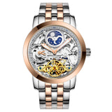 LIGE Automatic mechanical Watches Men  Luxury Dive 50M Business
