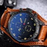 Curren Men Watches 2018  Luxury  Military Steampunk Sports  Quartz-Watch - MyGlobalGear