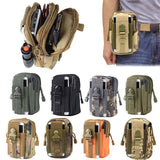 Waterproof Men's Tactical Coin Purse Waist Fanny Packs 5.5inch Mobile Pouch Bag
