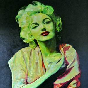 Tasmanian Portraiture Artist, Andrew Causon, Pays Homage to Marilyn and the Artist, Titian