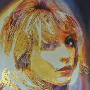 Tasmanian Portraiture Artist, Andrew Causon, Captures the Soul of Sharon Tate