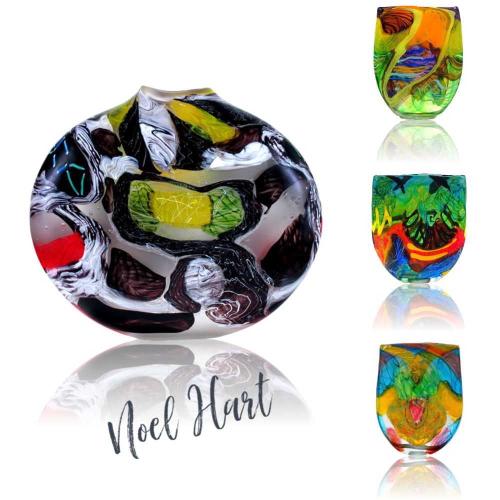 Spectacular Noel Hart Art Glass Exhibited at Gallery Salamanca