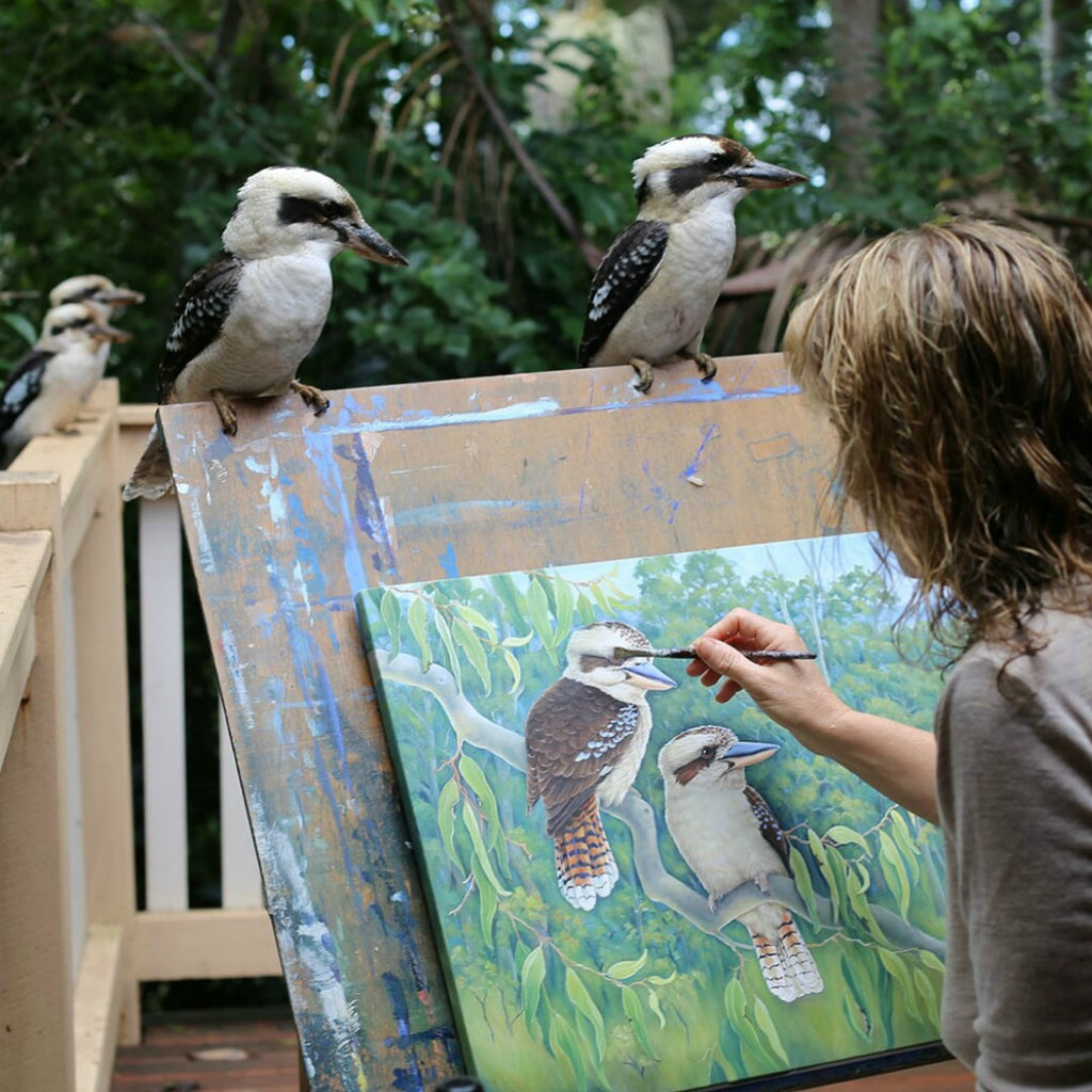 We're Thrilled to Welcome Renowned Australian Wildlife Artist, Katherine Castle, to our Gallery Salamanca Family