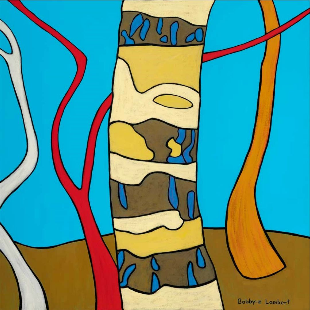 Bobby-Z Lambert Shows His Reverence for Our Land in His Latest Work ~  'Bush Totem'