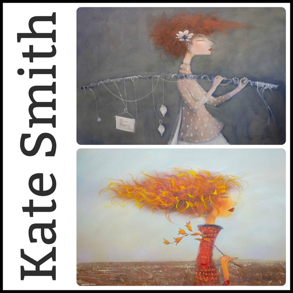 We're Thrilled to Welcome Renowned Artist, Kate Smith, to the Gallery Salamanca Family!