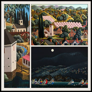 New Paintings by Tasmanian Artist, George Callaghan, at Gallery Salamanca