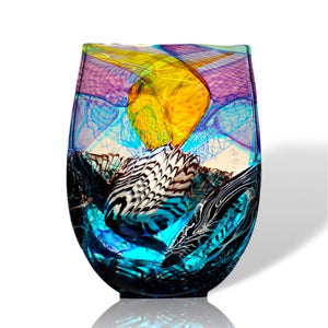 Another Stunning Art Glass Vessel by Noel Hart