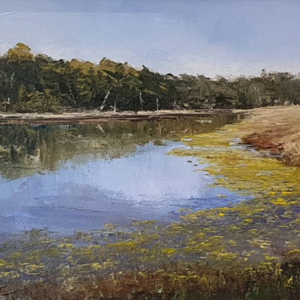 Feel the Quiet Beauty in New Work by Tasmanian Landscape Artist, Peter Smith