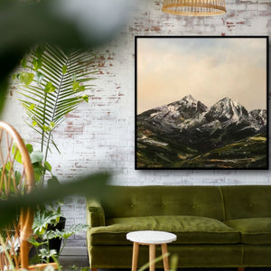 Tasmanian Artist, Stuart Clues, Paints the Spectacular Beauty of Hartz Mountains National Park