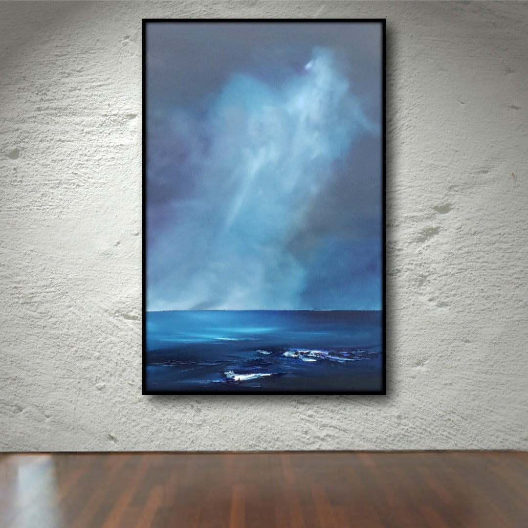 Sublime 'Shades of Light Over Bass Strait' by Tasmanian Artist, Stuart Clues