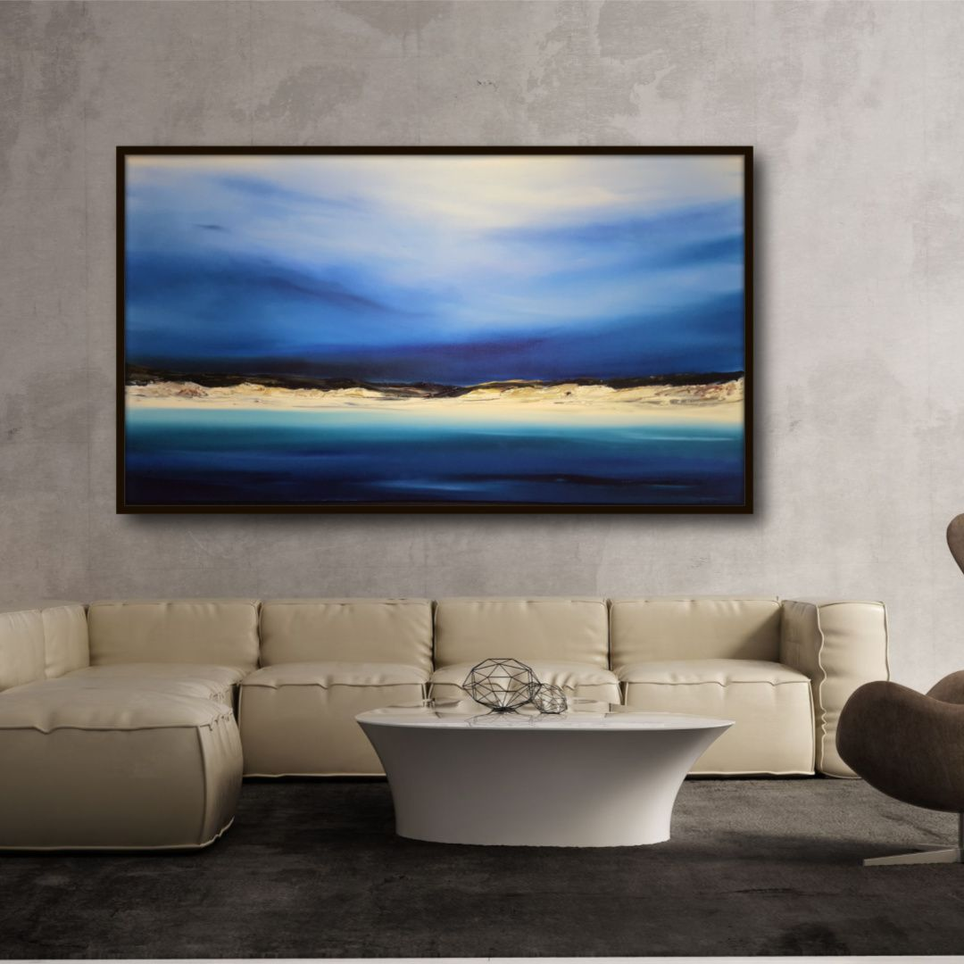 Stuart Clues Painting ~ 'Waking at Bay of Fires' is Stunning