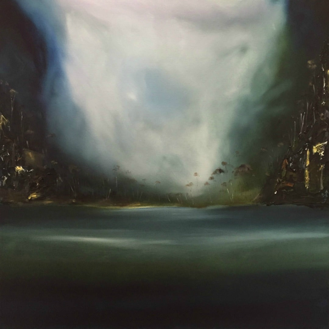 Gorgeous Moody Work by Tasmanian Artist, Stuart Clues ~ 'Winter Lull'