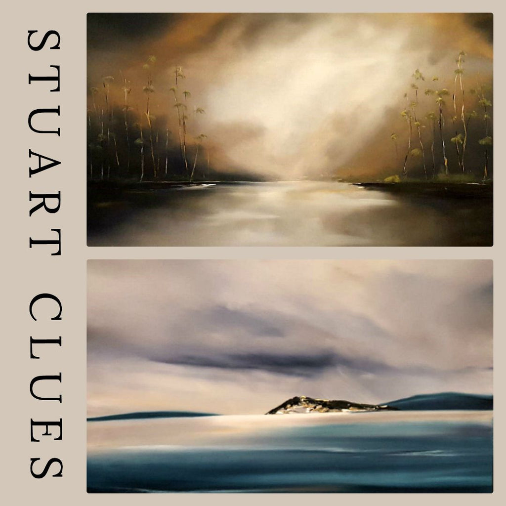 Stuart Clue's New Seascapes Perfect for Smaller Spaces